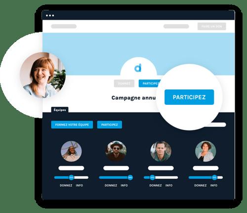 Interface représentant le peer-to-peer