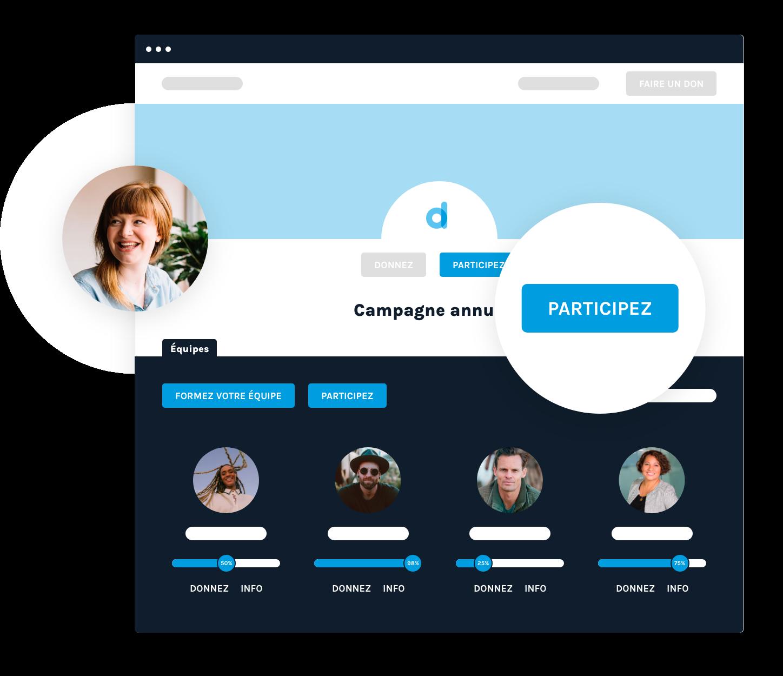 Interface qui représente le peer-to-peer